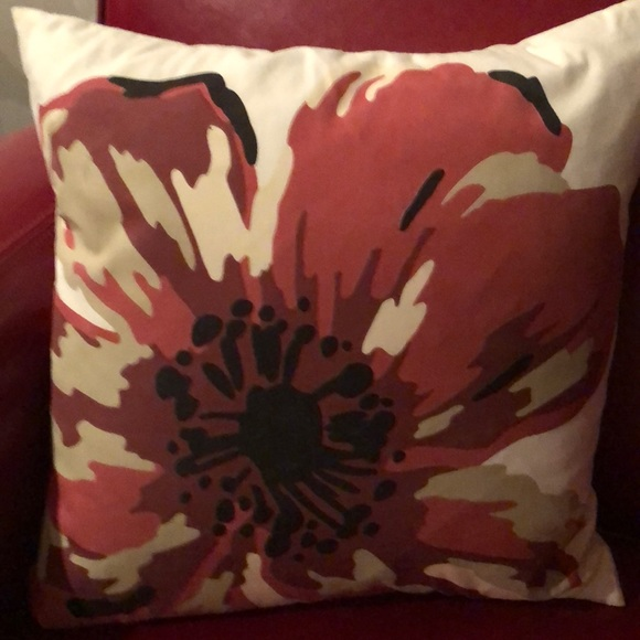 DKNY throw pillow